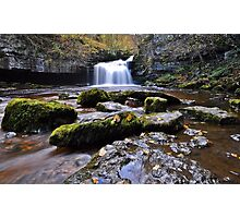 West Burton Flow Photographic Print