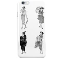 Fashion of the 1920s iPhone Case/Skin