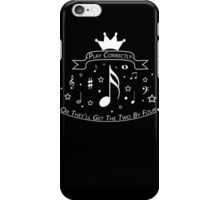 For Musicians and a friend iPhone Case/Skin