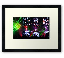 spaceguitar Framed Print