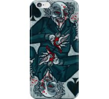 Knock, Vampire Jack of Spades iPhone Case/Skin