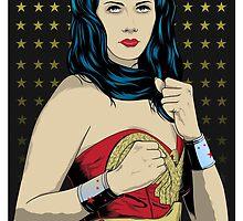 Wonder Woman by Jonathan Marin