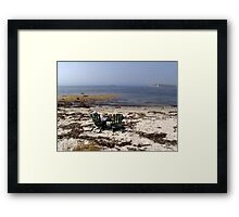 Time Out on a Beach Framed Print