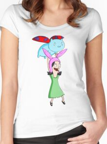 Catbug and Louise Women's Fitted Scoop T-Shirt