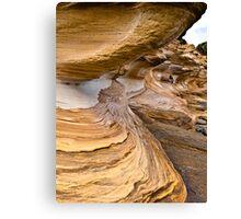 The Painted Cliffs Canvas Print