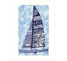 Sail Away Art Print