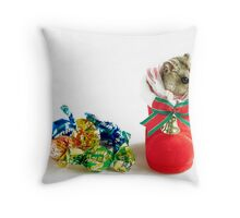 Looting Your Goodies This Christmas Throw Pillow