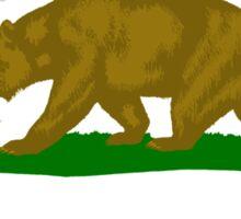 Californian Murican Patriot Flag Series 2.0 Sticker