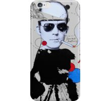 gonzo (hunter s. thompson) iPhone Case/Skin