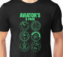 Aviator Six Pack Unisex T-Shirt