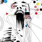 hirst...... (damien hirst) by Loui  Jover