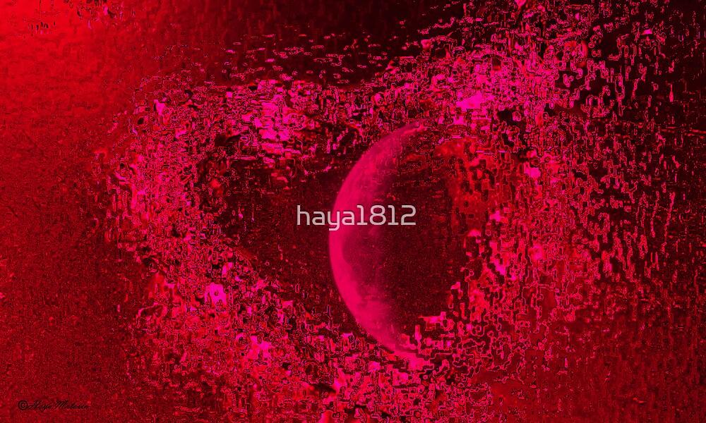 My Moon by haya1812