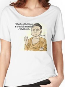 Inspirational Buddha Quote  Women's Relaxed Fit T-Shirt