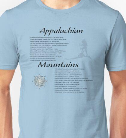 Appalachian Mountains Unisex T-Shirt