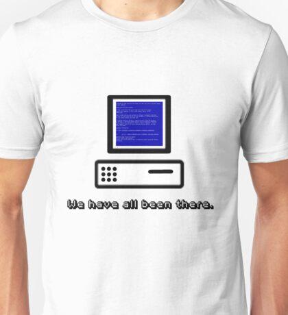 Blue Screen  Unisex T-Shirt