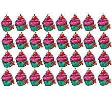 Cupcake - Tile. Photographic Print