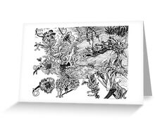 2007 Tiananmen Square & The Dieing Bees Greeting Card