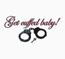 get cuffed baby! - sticker by vampvamp