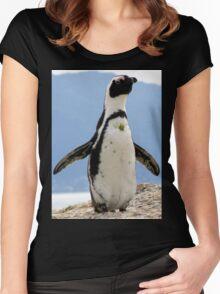 A jolly good fellow. Women's Fitted Scoop T-Shirt