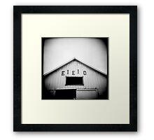 E.I.E.I.O. Framed Print