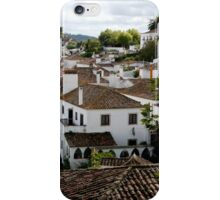 Rooftops - Obidos iPhone Case/Skin