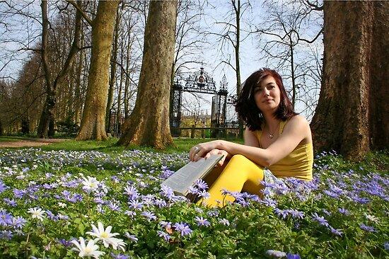 springtime in academia by Rebecca Tun