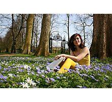 springtime in academia Photographic Print