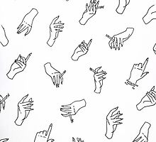 Minimalist Hand Collection - Harry Styles Inspired by samanthaforster