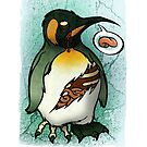 Zombie Penguin by hatefueled