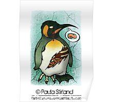 Zombie Penguin Poster