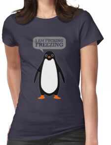 Cold Penguin Womens Fitted T-Shirt