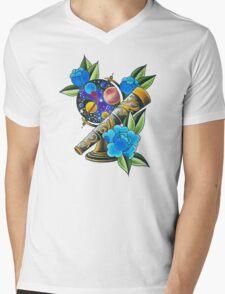 space Mens V-Neck T-Shirt