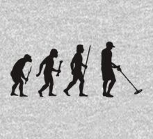 Evolution of Man and Metal Detecting by DesignMC