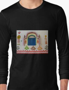 Artistic Facade - Nubian Village Long Sleeve T-Shirt