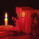 Red Books & Candle by Shirley Cross
