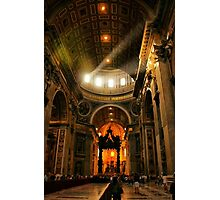 Light in Saint Peter's Photographic Print