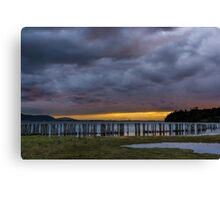 Lummi Bay Sunset  Canvas Print