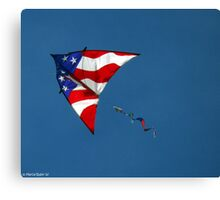 Flying Patriot  Canvas Print