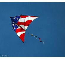 Flying Patriot  Photographic Print