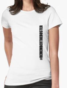Remember The Buster Womens Fitted T-Shirt