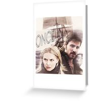 Hook and Emma-OUAT Greeting Card