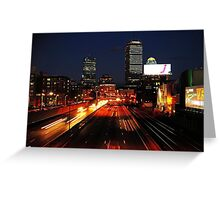 Boston Dreamin' Greeting Card