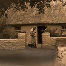 Granny's Cottage in County Clare by TonyCrehan