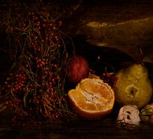 ~ still life with berries ~ by Adriana Glackin