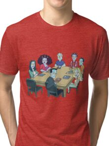 Rick and Morty: The Study Group Tri-blend T-Shirt