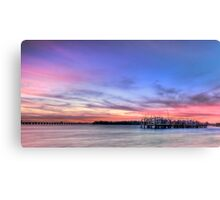 Blushing Skies Canvas Print