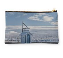 Blue and White Studio Pouch