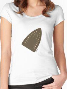 iron man / iron maiden Women's Fitted Scoop T-Shirt