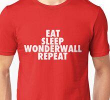 Eat Sleep Wonderwall Repeat Unisex T-Shirt