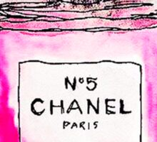 Chanel 5 pink Sticker